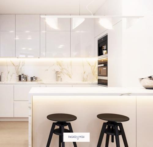 Дуже світла та простора кухня під замовлення в індивідуальних розмірах. Купити кухню Тернопіль