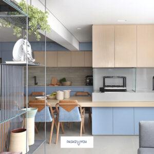 Дизайн кухні студії 2021 – оригінальні ідеї і практичні рекомендації від виробник кухні на замовлення Паскевич