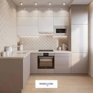 Біла кухня, купити меблі софіно, мінімалістичні меблі на замовлення, сфера меблі кухні